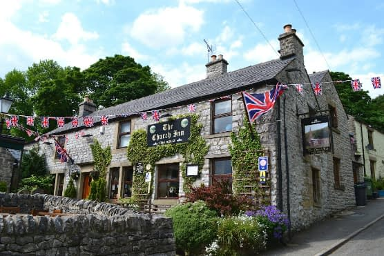 Best dog friendly pubs in the Peak District, The Church Inn, Chelmorton